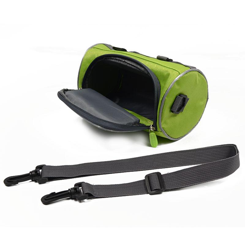 Wodoodporny Ekran Dotykowy Sakwy Rowerowe Rower Górski Rower Torby Phone Bag Case Rower Szosowy Rura Przednia Kierownica Torba Cylindra 30