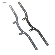 2Pcs Metal Chassis Beam For WPL C-14/C-24 4WD Crawler Truck Parts 1/16 RC Car цена