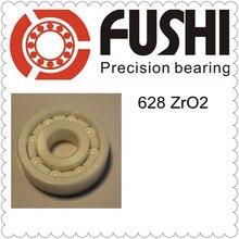 628 Полный керамический подшипник (1 предмет) 8*24*8 мм ZrO2 Материал 628CE все циркония керамические шарикоподшипники