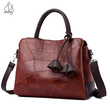 Luxury Leather Tassel Flowers Casual Tote Women Totes Handbags Shoulder Bag Crossbody Messenger Bags High Qualit