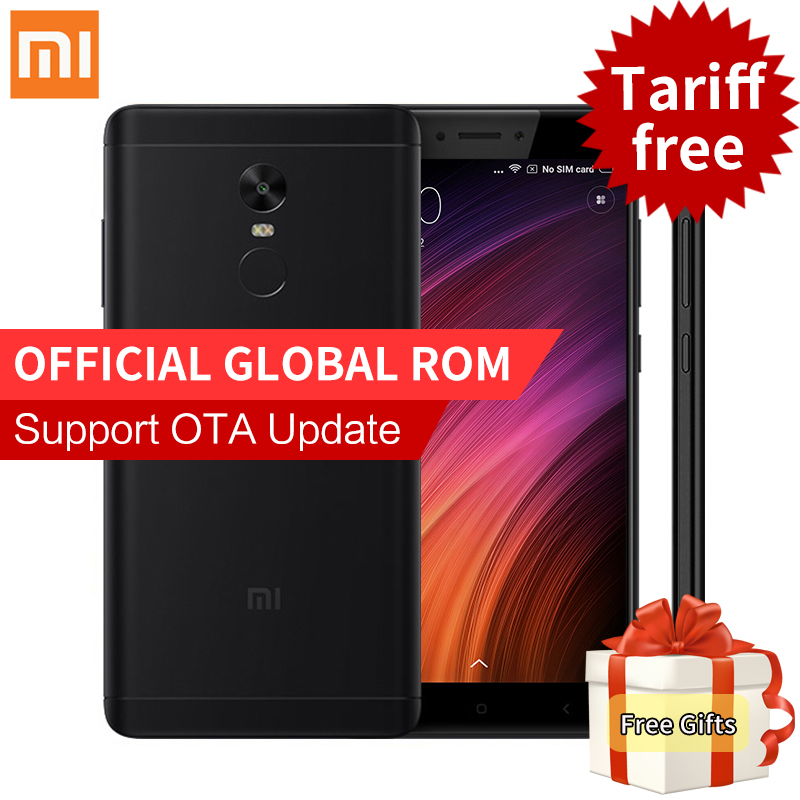 Original Xiaomi Redmi Note 4X 3GB 32GB Smartphone Snapdragon 625 Octa Core 5 5 FHD 13MP