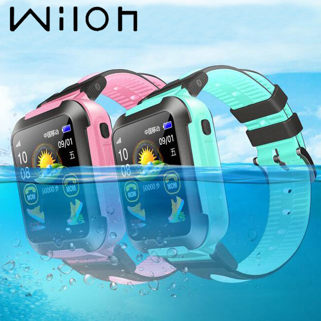 Children GPS tracker watch Location Waterproof Touch Screen iOS Android baby Sma