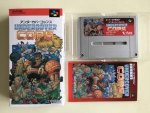 Image 1 - 16Bit משחקים ** סמוי שוטרים (יפן NTSC J גרסה!! תיבה + מדריך + מחסנית!!)