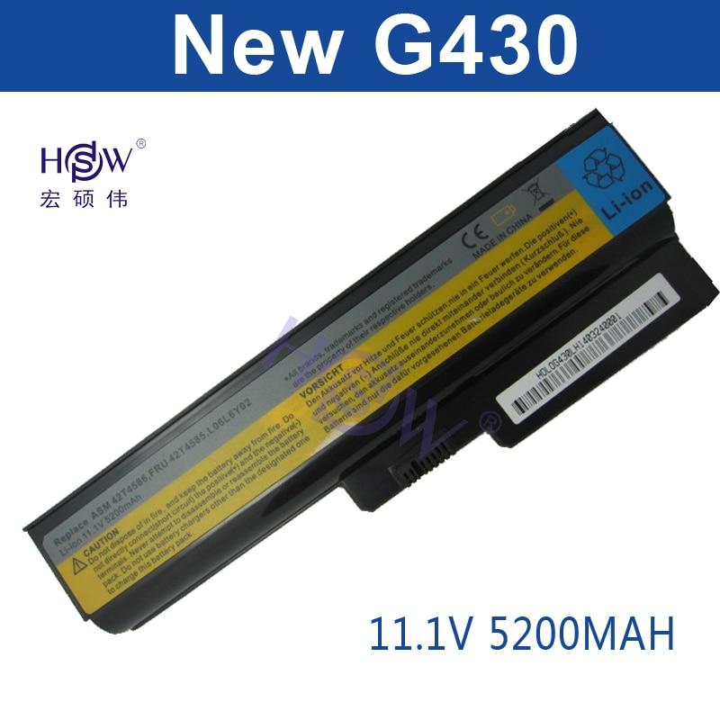 Batería para portátil HSW para LENOVO G430 G450 G455A G530 G550 - Accesorios para laptop