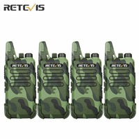 2pcs Dustproof Retevis RT22 Walkie Talkie Transceiver 2W 16CH UHF400 480MHz CTCSS DCS VOX Scan Squelch