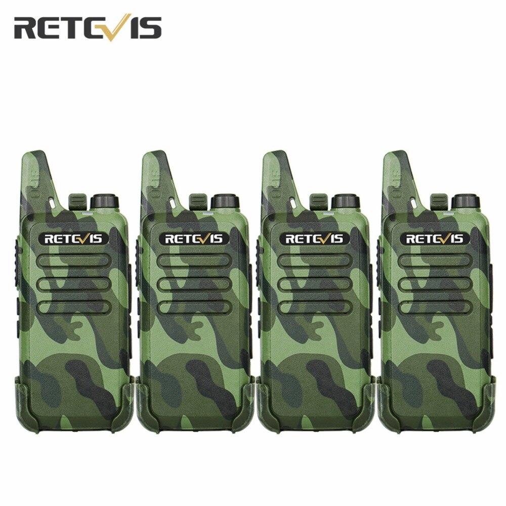 4 stücke Staubdicht Retevis RT22 Walkie Talkie Transceiver 2 Watt 16CH UHF400-480MHz CTCSS/DCS VOX Scan Rauschsperre Tragbare Amateur Radio RU