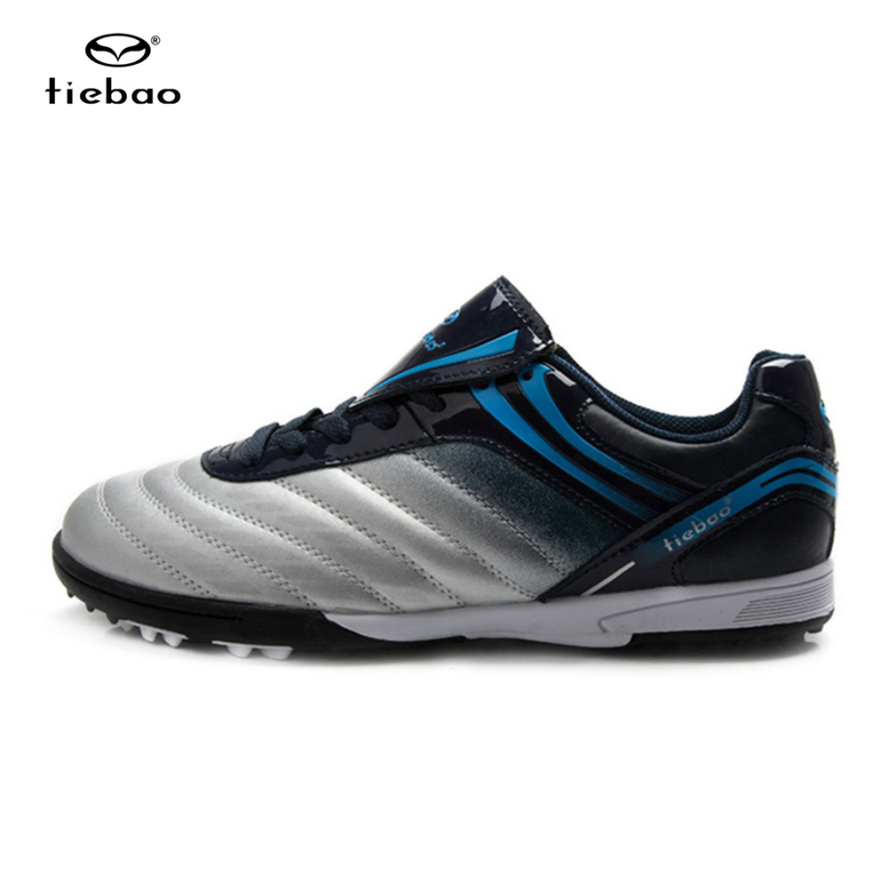 TIEBAO Professional Indoor Soccer Shoes Football Botas Futbol patos De Futbol Sport ShoesTobilleras Child Kids Football Shoes