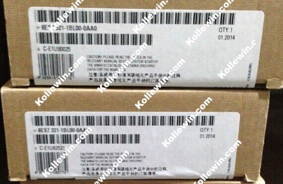Original 6ES7321-1BL00-0AA0 Digital Input Module, NEW SIMATIC S7-300 6ES7 321-1BL00-0AA0, 24 V DC, 1 X 40 PIN 6ES73211BL000AA0 new digital 6 30