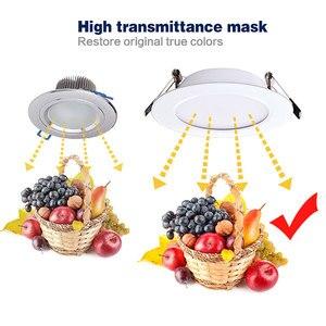 Image 4 - 10 adet kısılabilir su geçirmez led Downlight AC220V 230V 5W 7W 9W 12W 15W 18W LED kapalı lamba gömme LED Spot ışık banyo