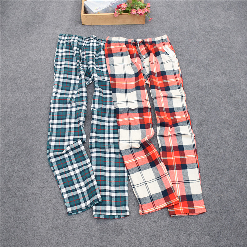 Pants For Men Woven Velvet Cotton Cloth Long Pants Men Lounge Sleep Bottoms Trousers