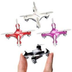 Cheerson CX-10SE Mini RC Quad Copter bolsillo Drone Control remoto chico juguete 4CH 3D voltea cuadricóptero RC nano helicóptero RTF VS H20