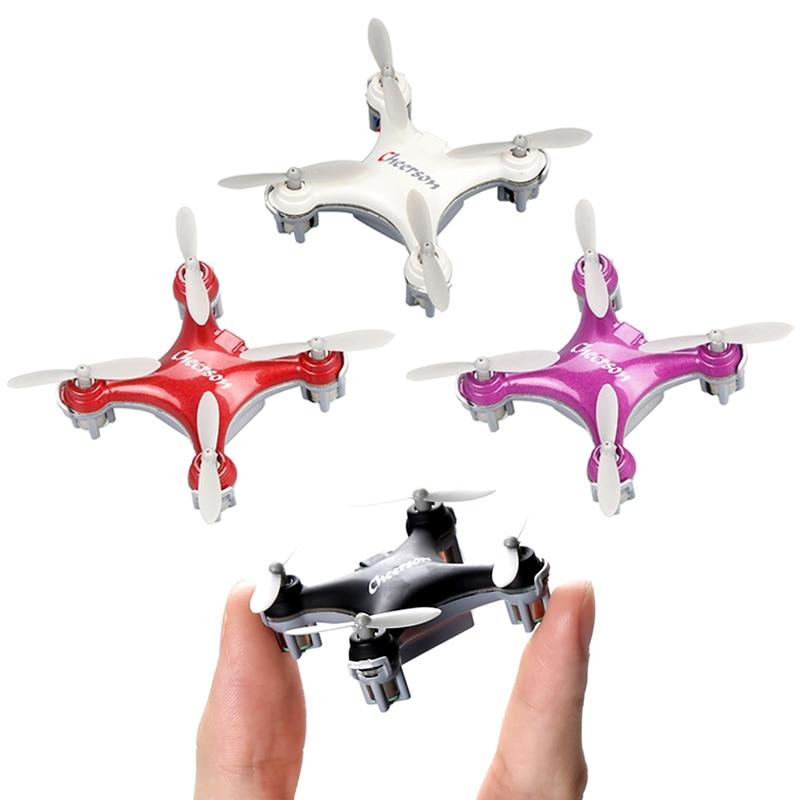 Cheerson CX-10SE Mini RC Quad Copter bolsillo Drone Control remoto juguete 4CH 3D Flips RC NaNo Quadcopter helicóptero RTF VS H20