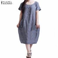 New Arrival Women Dress 2016 Fashion Casual Loose Summer Dresses Short Sleeve O Neck Vestidos Plus