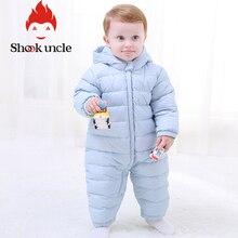 Детские зимние комбинезоны с заячьими ушками для новорожденных; теплый комбинезон с хлопковой подкладкой для девочек и мальчиков; Осенняя модная одежда для малышей; детская одежда для альпинизма