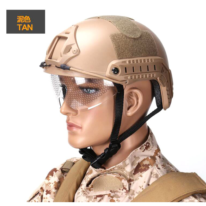 Good Quality Rapid Reaction System Helmet  ABS Material CS Airsoft Tactical Goggles Helmet Outdoor Rock Climbing Safety Helmet fma airsoft maritime helmet abs thin section helmet tactical helmet capacete airsoft climbing helmet fma maritime fg tb816