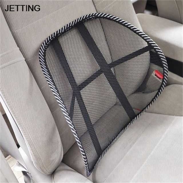 massage chair for car. new auto care cool vent massage cushion mesh back lumber support office chair car seat pad for