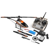 WLtoys V950 2.4G 6CH 3D/6G System switched freely High efficiency Brushless Motor RTF RC Helicopter Stronger Wind Resistance(China)