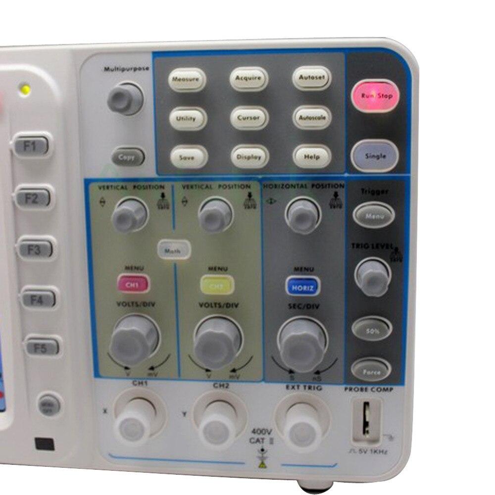 """""""OWON"""" Naujas ypač plonas 300 MHz OWON osciloskopas SDS9302 3.2G - Matavimo prietaisai - Nuotrauka 5"""