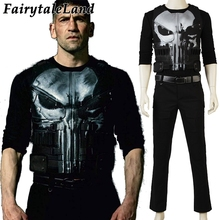 The Punisher Cosplay Costume Halloween costumes for adult Cosplay Punisher Frank Castle Costume Punisher Fancy suit  sc 1 st  AliExpress.com & Buy punisher costume and get free shipping on AliExpress.com