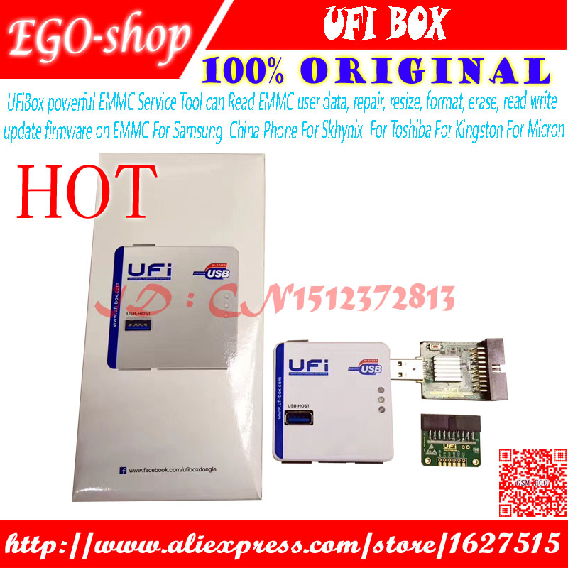 US $309 0 |UFiBox powerful EMMC Service Tool can Read EMMC user data,  repair, resize, format, erase, read write update firmware on EMMC-in  Telecom