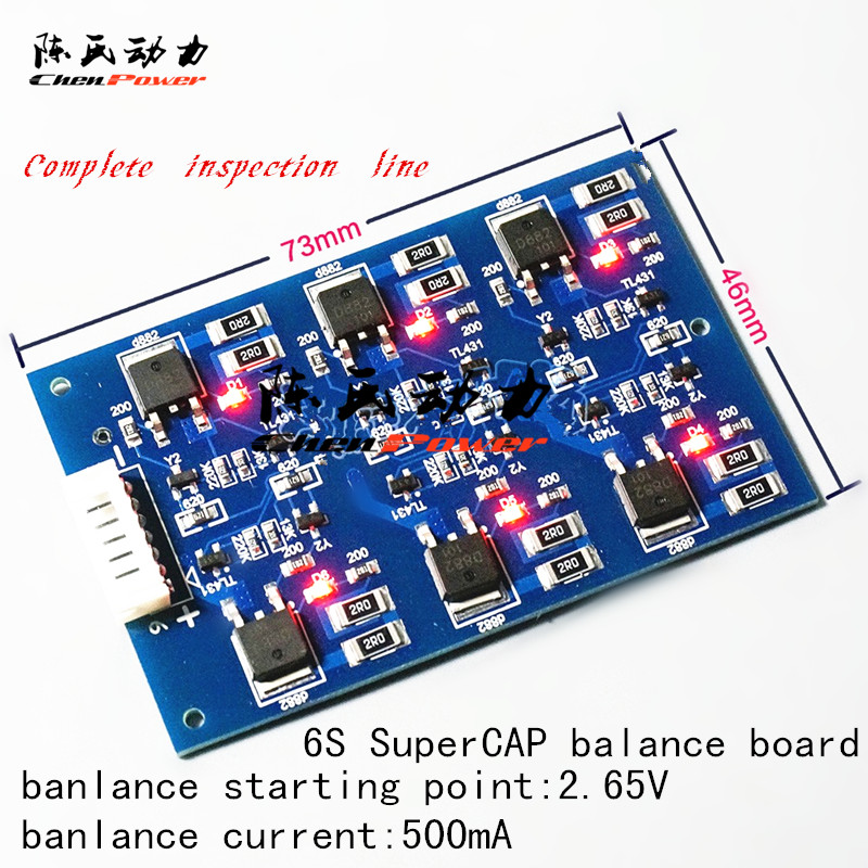 US $13 0  Super capacitor battery balance board 6 series 500mA BMS-in  Battery Accessories from Consumer Electronics on Aliexpress com   Alibaba  Group