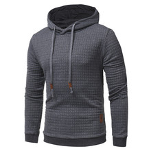VISADA JAUNA 2018 New Arrival Men Sweatshirts Classic Men's Hooded Casual Sweatshirt Jacket Slim Men's Hoodies Big Size N8855