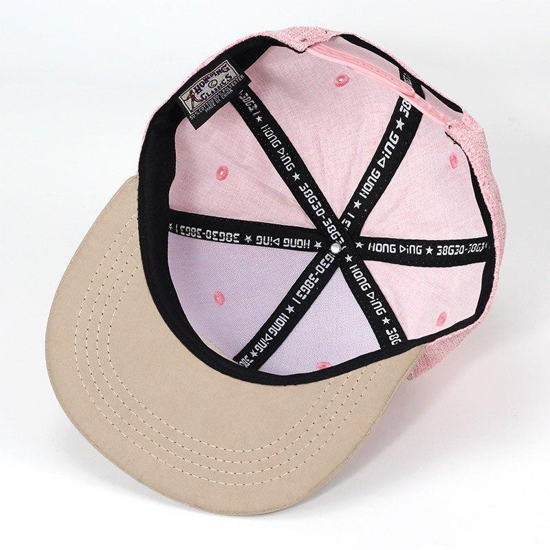 Calidad SnapBack NY triángulo redondo marca bordado gorra de béisbol ala  plana hip hop juventud gorra y sombrero para niños Y niñas en Gorras de  béisbol de ... 86a3404d2a8