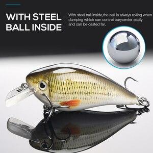Image 3 - TREHOOK 6cm 12g Kurbel Wobbler für Fisch Schwimmende Künstliche Harten Köder Hecht Crankbait Topwater Locken minnow