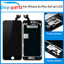 цены на 20Pcs AAA Quality Full Set For iPhone 6s plus LCD Display Touch Screen Home button+Front camera Digitizer Assembly Replacement  в интернет-магазинах