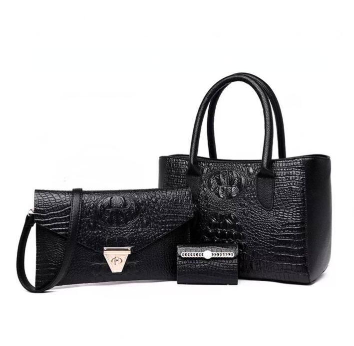 Emarald 2018 new fashion women handbag 3pieces bags good quality bag free shipping цены