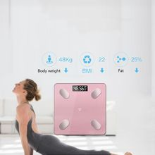 Digital Smart Body Fat Weight Scale LCD Health Fitness BMI Muscle Bathroom Scale For Weight Loss цена