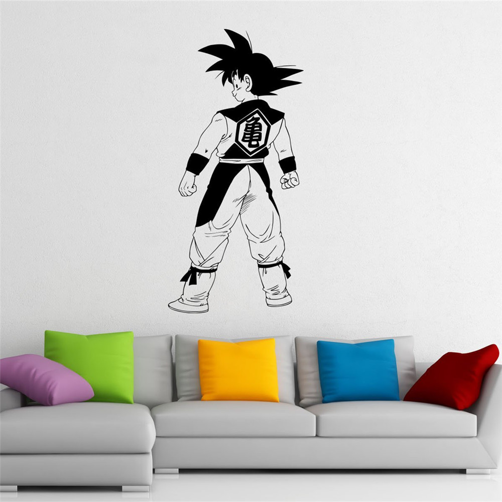 Japanese anime dragonball wall stickers home decoration - Childrens bedroom wall stickers removable ...