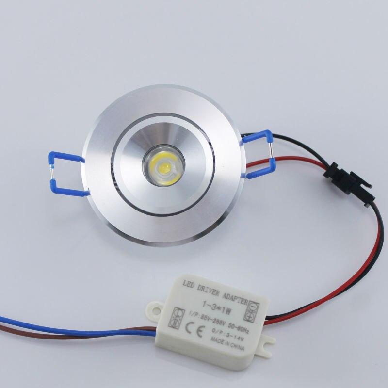 Անվճար առաքում 3W LED Recess Downlight Cabinet Lamp - Ներքին լուսավորություն - Լուսանկար 3
