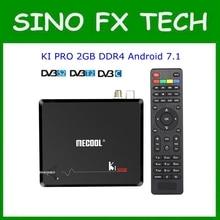 MECOOL KI Pro Android 7.1 DVB S2+DVB T2/C TV Box Amlogic S90