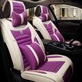 3D Автомобиля Сиденья Вообще Подушки Лен Автомобилей Чехлы, Стайлинга Автомобилей Для Chevrolet Cruze Малибу Sonic Spark Trax парус captiva epica
