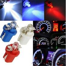 2 шт. B8.5 T5 светодиодный B8.5D Автомобильный датчик светодиода 1SMD светодиодный Speedo Dash лампы инструмент светильник лампы приборной панели светильник