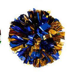 golden blue Small cheer pom poms 5c64fbbde3eae