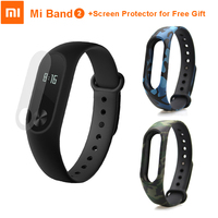 Original Xiaomi Mi Band 2 With OLED Display Heart Rate Monitor Fitness Tracker Bluetooth IP67 Waterproof