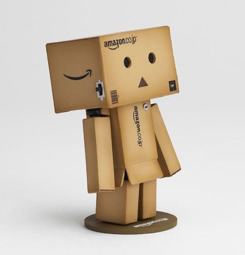 1 piece cute Japan anime Danbo Mini toy Action Figure Danbor Ver. Figure LED Light High Quality Japan Box gift new
