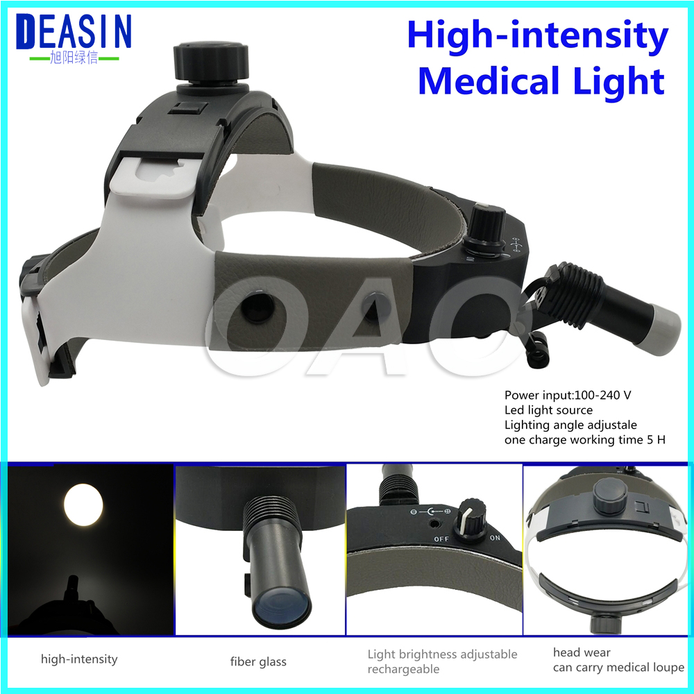 Free Shipping Dental Loupes With Surgical Led Headlight