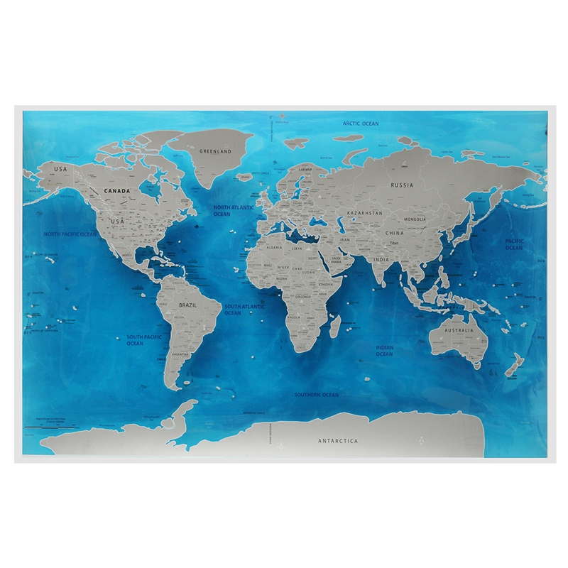 Travel world scratch map ocean scratch off foil layer coating world travel world scratch map ocean scratch off foil layer coating world deluxe scratch map 594x825cm in puzzles from toys hobbies on aliexpress gumiabroncs Images