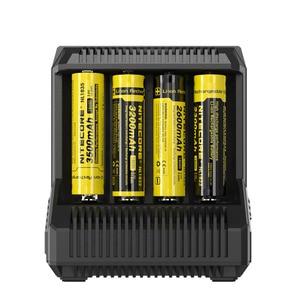 Image 4 - Nitecore I8 Intelligente Lader 8 Slots 4A Uitgang Slimme Batterij Voor IMR18650 16340/10440 Aa Aaa 14500 26650 Auto Lading c2