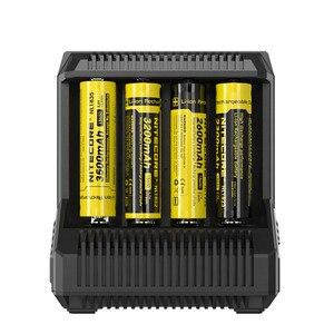 Image 4 - Nitecore i8 インテリジェント充電器 8 スロット 4A 出力スマートバッテリ充電 IMR18650 16340/10440 aa aaa 14500 26650 車の充電 c2