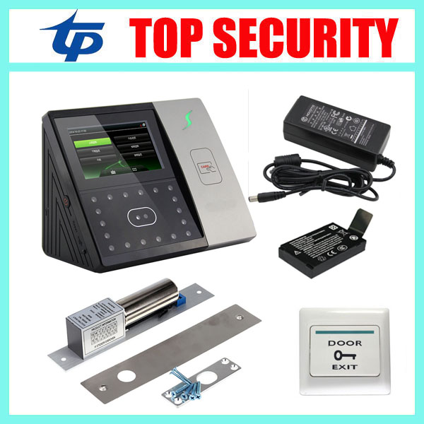 New firmware ZMM220 iface701 face time attendance and access control optional access control electric lock and back up battery