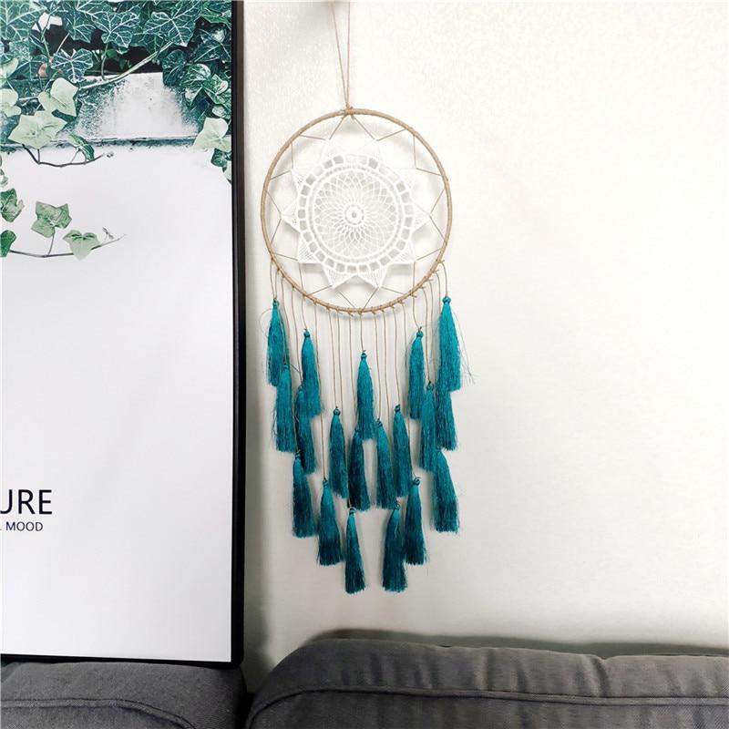 Attrape rêves fait main | Macramé Décoration de la maison capteurs de rêves décoration intérieur décoration murale attrapeurs de rêves amérindien protection cauchemar