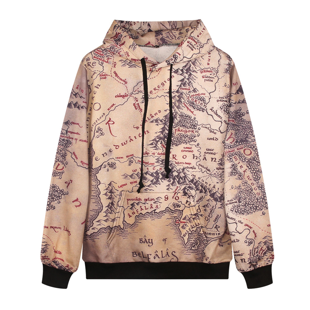 Fashion lord of the rings hoodie middle earth map punk women fashion lord of the rings hoodie middle earth map punk women sweatshirt 3d floral print punk style kitty casual hoodies rob1319 in hoodies sweatshirts gumiabroncs Gallery