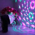 2016 de Cristal Del Coche de Música ritmo dj etapa effects12V mini LLEVÓ la decoración del coche del automóvil de la lámpara bombilla intermitente Venta Caliente
