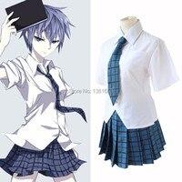 Anime Akuma no Riddle Cosplay Clothes Azuma Tokaku Cosplay Costume school girls costumes