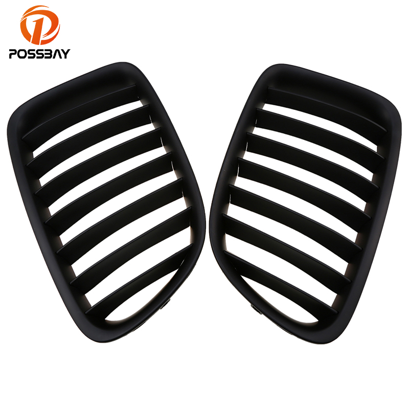 POSSBAY Auto Car Front Center Wide Kidney Hood Grille Grills for BMW X1 E84 25iX/28i 2009-2015 Pre-facelift External AccessoriesPOSSBAY Auto Car Front Center Wide Kidney Hood Grille Grills for BMW X1 E84 25iX/28i 2009-2015 Pre-facelift External Accessories