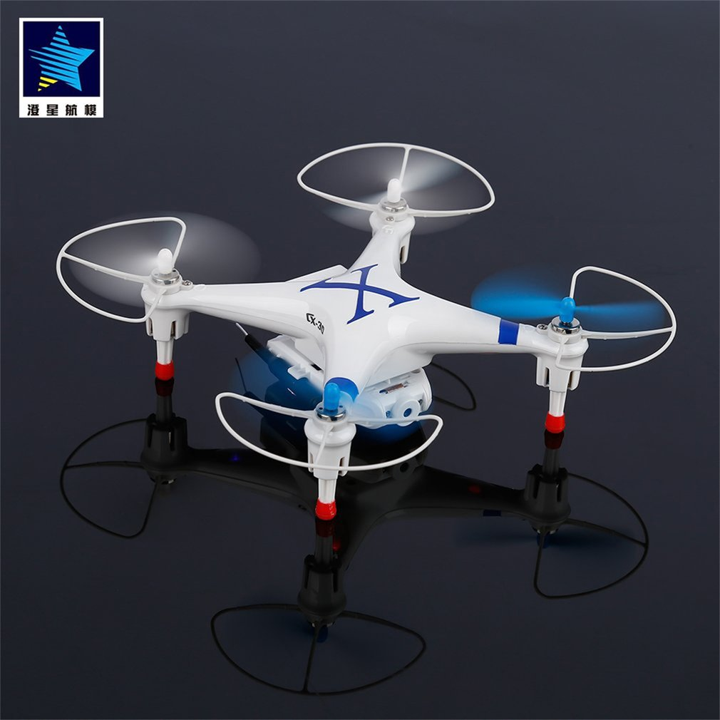 Blue FPV Wifi Quadcopter Drone for Cheerson CX-30W-TX Phone Control RC Helicopter Professional 2.4G 4 Axis Gyro With HD Camera mini rc helicopter cheerson cx 10w upslon cheerson cx 10wd rc quadrocopter with camera mini drones remote control fpv wifi drone